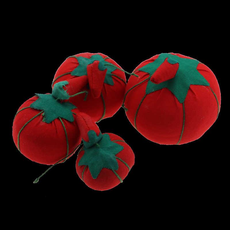 1 pcs כדור עגבניות בצורת מחט פין כרית עם אלסטי יד חגורת DIY Handcraft כלי עבור תפר תפירת רקמה אבזר