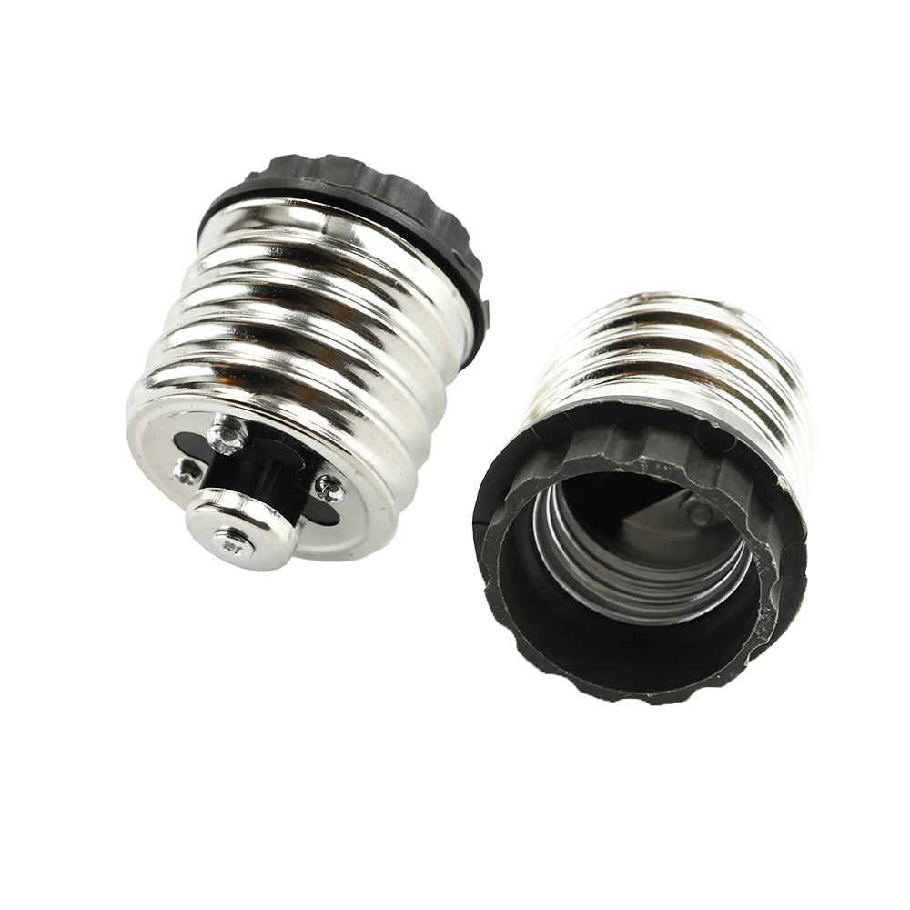 1pcs E40 To E27 Lamp Holder Converters Led Light Bulbs Base Adapter For LED Halogen Filament CFL Light 16A 220V JQ