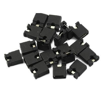 100pcs 2.54mm Jumper Cap Mini Jumper Short Circuit Cap Contion 2.54mm