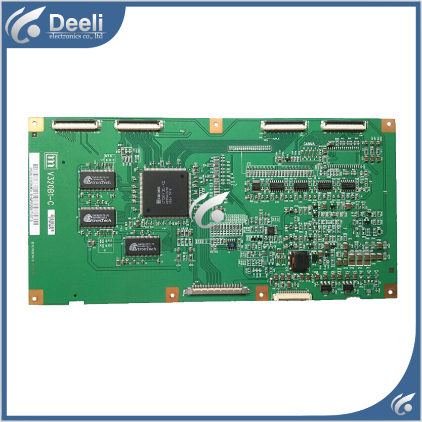 Working good 95% new original for TLM3233 logic board V320B1-C V320B1-L01-C LCD32B66 V320B1 - L01 - C - C  цена и фото