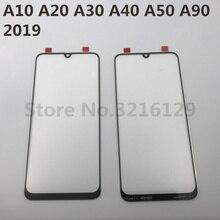 עבור סמסונג גלקסי A10 A20 A30 A40 A50 A60 A70 A80 A90 M10 M20 M30 מקורי מגע LCD מסך קדמי חיצוני זכוכית לוח החלפה