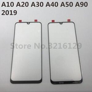 Image 1 - Do Samsung Galaxy A10 A20 A30 A40 A50 A60 A70 A80 A90 M10 M20 M30 oryginalny lcd ekran dotykowy przednia wymienny szklany panel