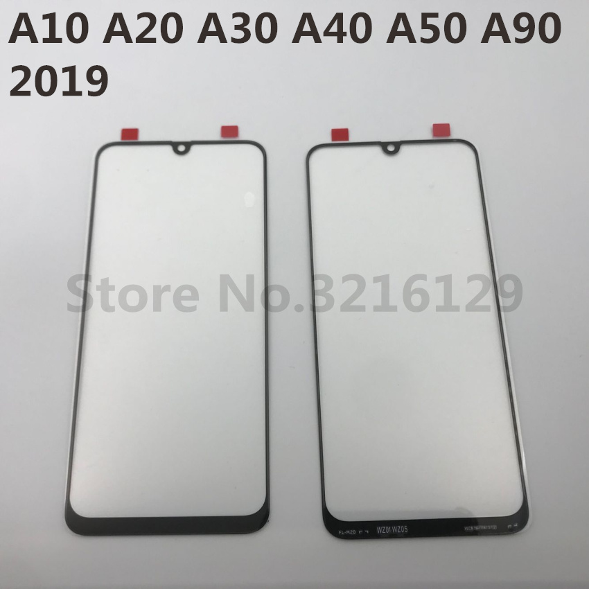 For <font><b>Samsung</b></font> <font><b>Galaxy</b></font> A10 A20 A30 A40 A50 <font><b>A60</b></font> A70 A80 A90 M10 M20 M30 Original LCD Touch Screen Front Outer <font><b>Glass</b></font> Panel Replacement image