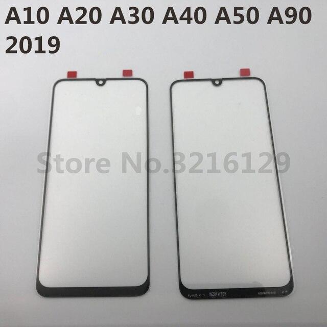 Pour Samsung Galaxy A10 A20 A30 A40 A50 A60 A70 A80 A90 M10 M20 M30 Original Décran Tactile DAFFICHAGE À CRISTAUX LIQUIDES Extérieur Avant Remplacement de Panneau de Verre
