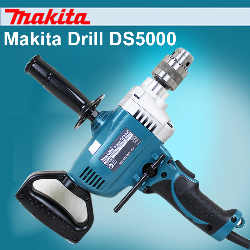 Original Japan Makita Stirring Drill DS5000 Hand drill Aircraft drills Positive and negative 16mm High Power  750W japan cosel turn positive and negative supply module zuw101215 12v 15v 30v output 10w is also available when