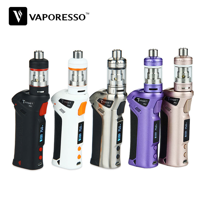 Hot Original 75W Vaporesso TARGET Pro VTC Kit with Capacity 2.5ml  CCELL Tank W/O Battery  Replacement Coil C-Eig No Battery