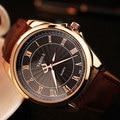 Yazole reloj 2017 reloj de los hombres de primeras marcas de lujo famoso hombre reloj relogio masculino reloj de cuarzo para hombre hodinky ceasuri