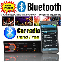 new 12V Car radio Stereo FM MP3 Audio Player built in Bluetooth Phone with USB SD Port Car radios In-Dash 1 DIN size bluetooth