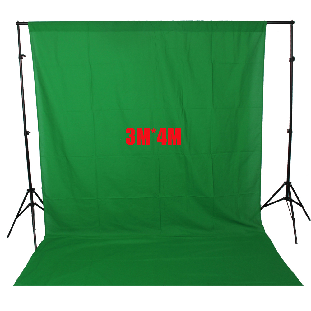 ASHANKS Photography Backdrops Green Screen 3*4m Photo Background for Photo Studio 10FT*13FT Backdrop for Camera Fotografica ashanks photography backdrops 10ft x 13ft fabric cloth chromakey backgrounds porta retrato for dslr photo studio