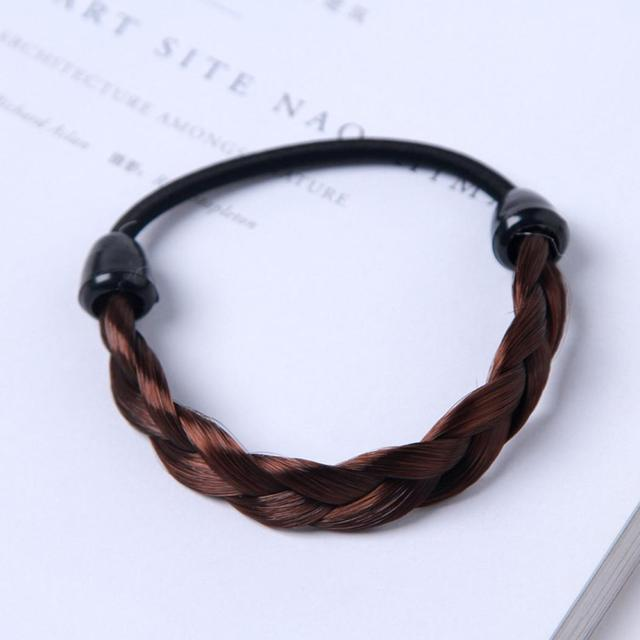 US $0 46 15% OFF|Elastic Braid Hair Hair Tie Women Wig Bands Holder  Accessories Ponytail-in Headbands from Apparel Accessories on  Aliexpress com |