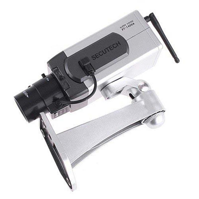 Free Shipping Fake Camera Outdoor Dummy CCTV Camera Flashing Red LED Simulation Camera Bullet Indoor Fake Security Camera New