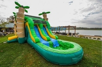 Hot Sale Commercial Big Cheap Adult Size Giant Inflatable Water Pool Slide For Kids And Adults
