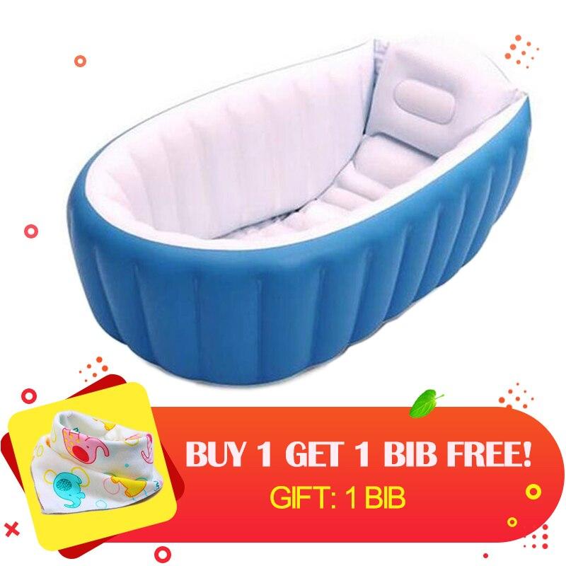 Mambobaby Portable Inflatable Baby Bath Kids Bathtub ...