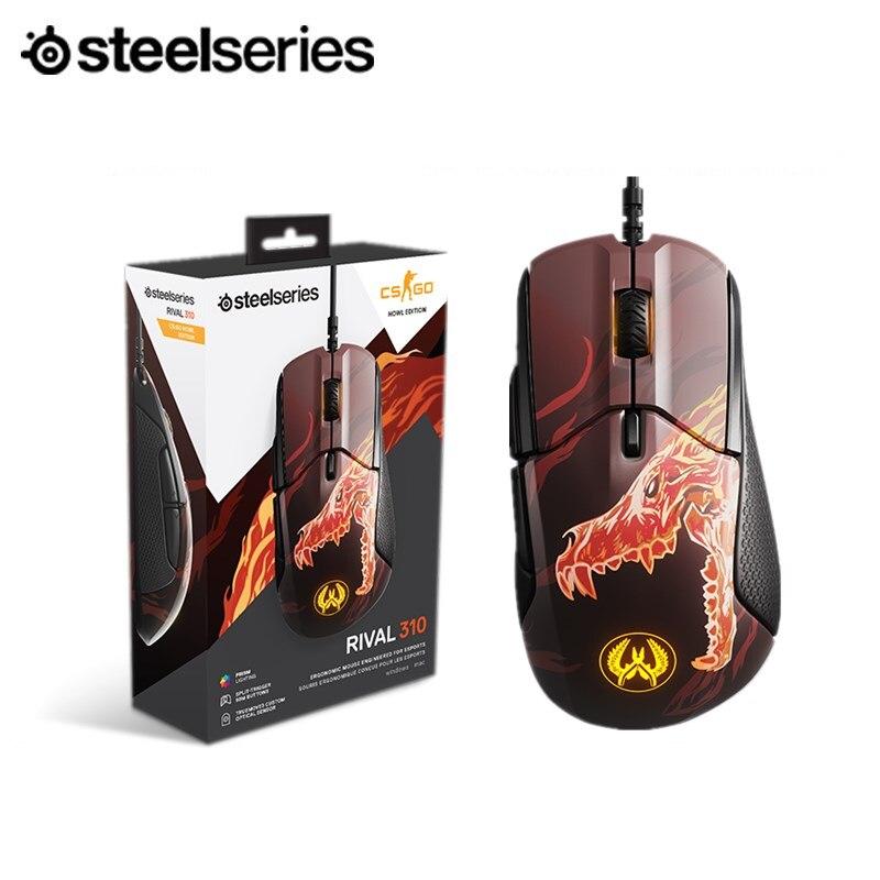 Steelseries CSGO Howl Rival310 rugissant édition limitée Jedi survie e-sports jeu souris RGB effet de lumière