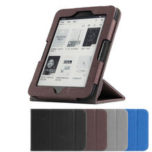 "Case For Boyue T63 JDRead PU Protective eBook Reader Smart Cover leather For boyueT63 Protector Sleeve 6"" Covers Electronic"