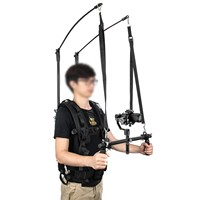 DHL Laing V10 Stabilizer Vest 6-13kg New Video Studio Steadicam Stabilizer Support Rod Body Load Vest Handle Arm for DSLR Camera