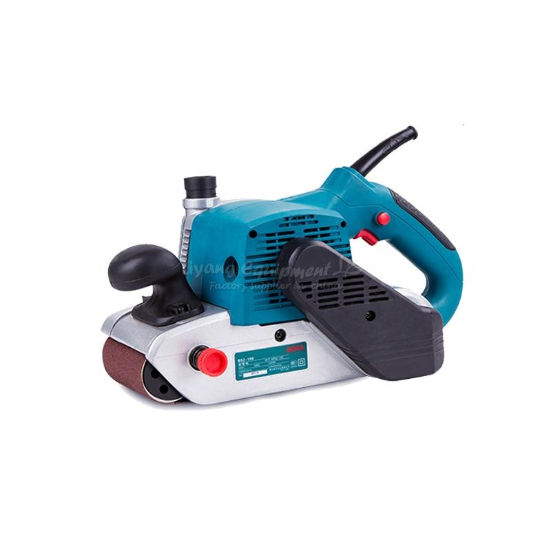 Small woodworking polishing machine belt sander 100*610 1400W vibration type pneumatic sanding machine rectangle grinding machine sand vibration machine polishing machine 70x100mm