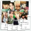 2017 Recién Llegado de k-pop Bts Bangtan niños Álbum de Fotos Tarjetas Cartel Párrafo Postal Tarjeta de 8 tarjetas de Kpop Carteles joven la Tarjeta Fotográfica