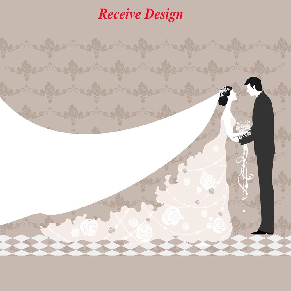 Personalize Wedding Gift Guest Signature Fingerprints Sign Wedding
