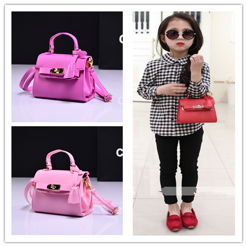 2018 New Fashion Handbag Cute Kids Purse Children Fashion Brand leather  Princess Party Crossbody Bag For Baby Girls 159a5da3e5b3e