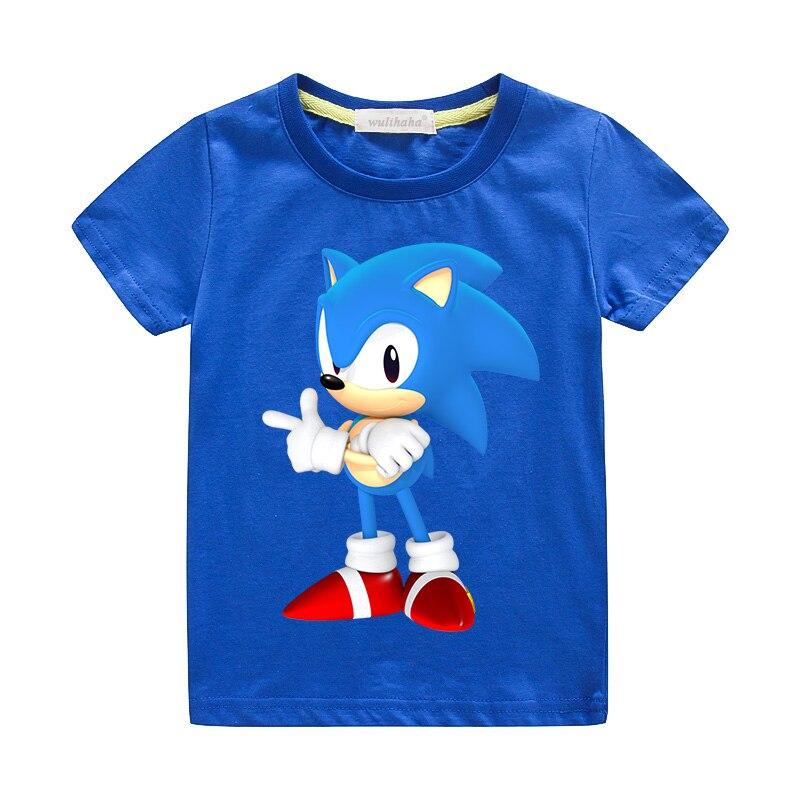 Kids Summer Tee Top 3D Mario Print T-shirt Boys Girls Short Sleeve O-Neck Tshirts Costume Children Cotton Casual Clothes ZA041 1