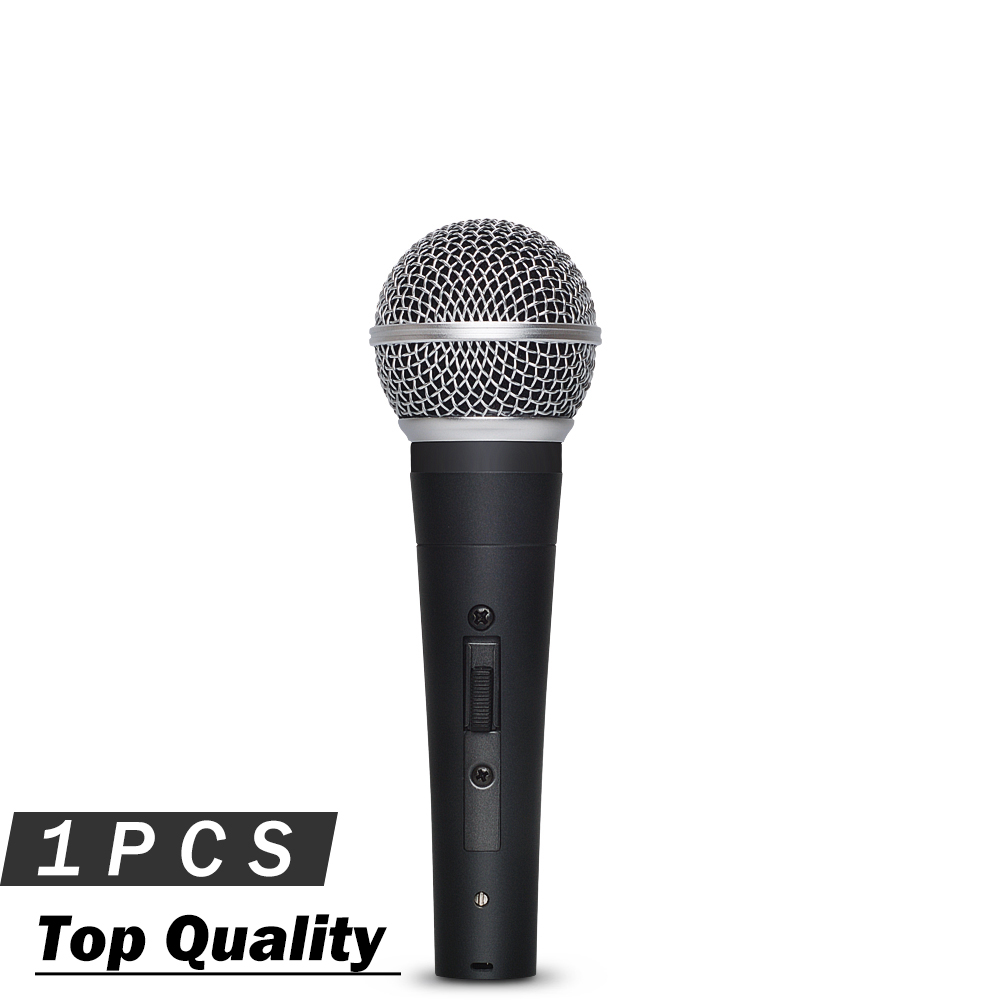 Top Quality SM58SK Dynamic Vocal Microphone with Switch Real Transformer Inside Professional Handheld Mic for Live
