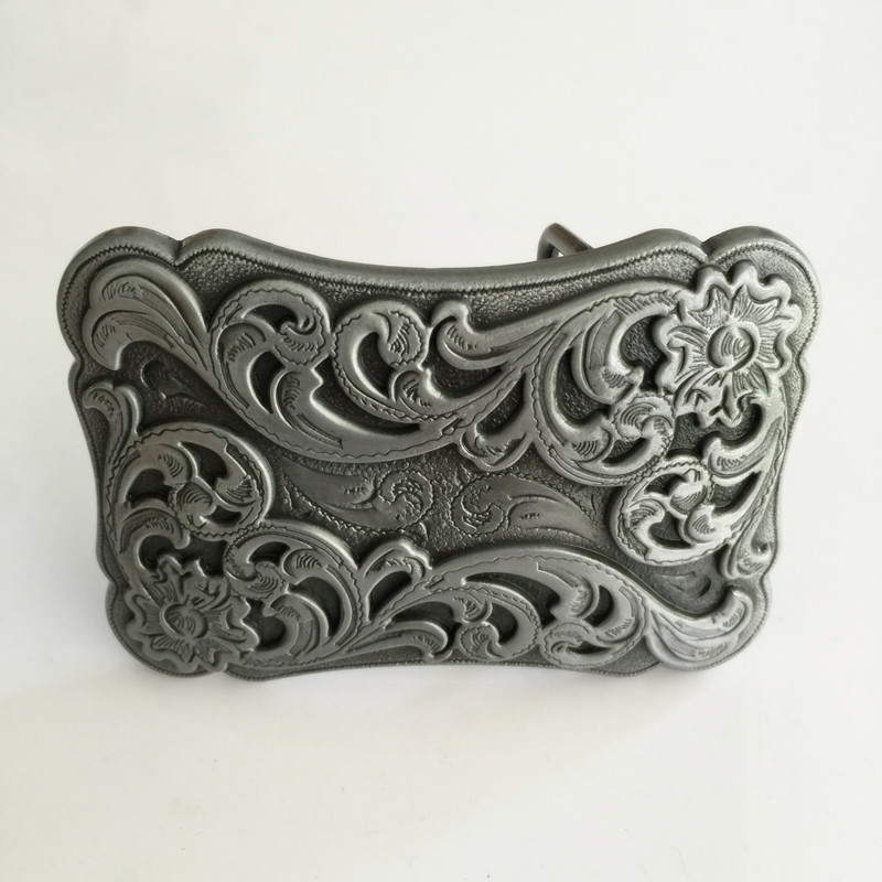 Hot selling High quality Cowboy Metal belt buckles for Fashion men women Jeans accessories fit 4cm Wide Belt Retail & Wholesale