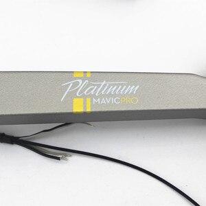 Image 5 - 100% Yepyeni Orijinal Mavic Pro Platinum Motor Kol yedek parça DJI Mavic Pro için iniş takımı Bacak Kol Tamir değiştirme