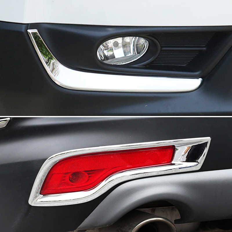 لهوندا CR-V CRV 5th Gen 2017 2018 2019 الكروم الضباب ضوء الهواء تنفيس منفذ الجسم صب غطاء الكسوة قطاع الديكور سيارة التصميم
