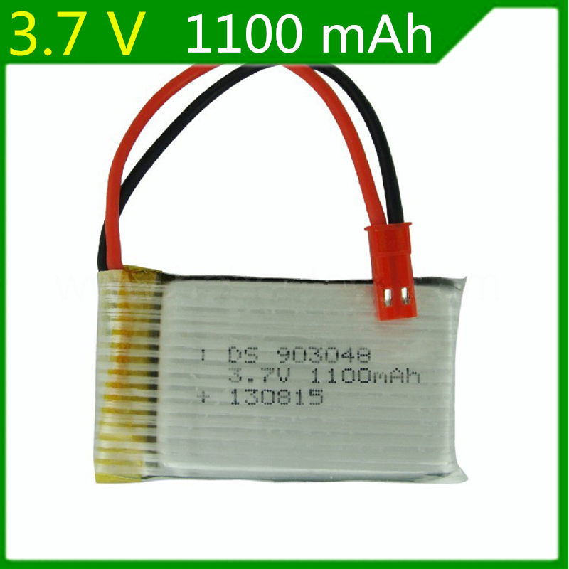 3.7V 1100mAh RC Halicopter 1S Battery For for JJRC H11C Lipo Battery For RC Toys 903048