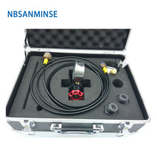 CPU Box Type Nitrogen Charging Tool Hydraulic Components Cast Iron / Stainless Steel 304 A-alloy Toolbox Sanmin