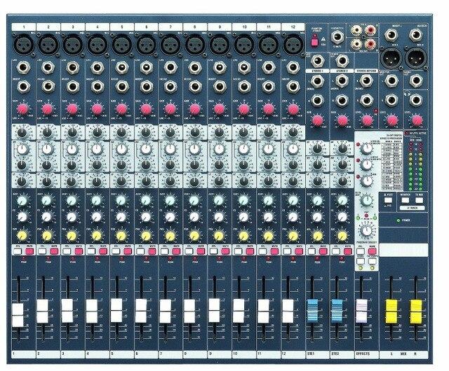 12 canales del mezclador de audio dj mezcladores dj profesional mesa de mezclas para la etapa - Mesa de mezclas 2 canales ...