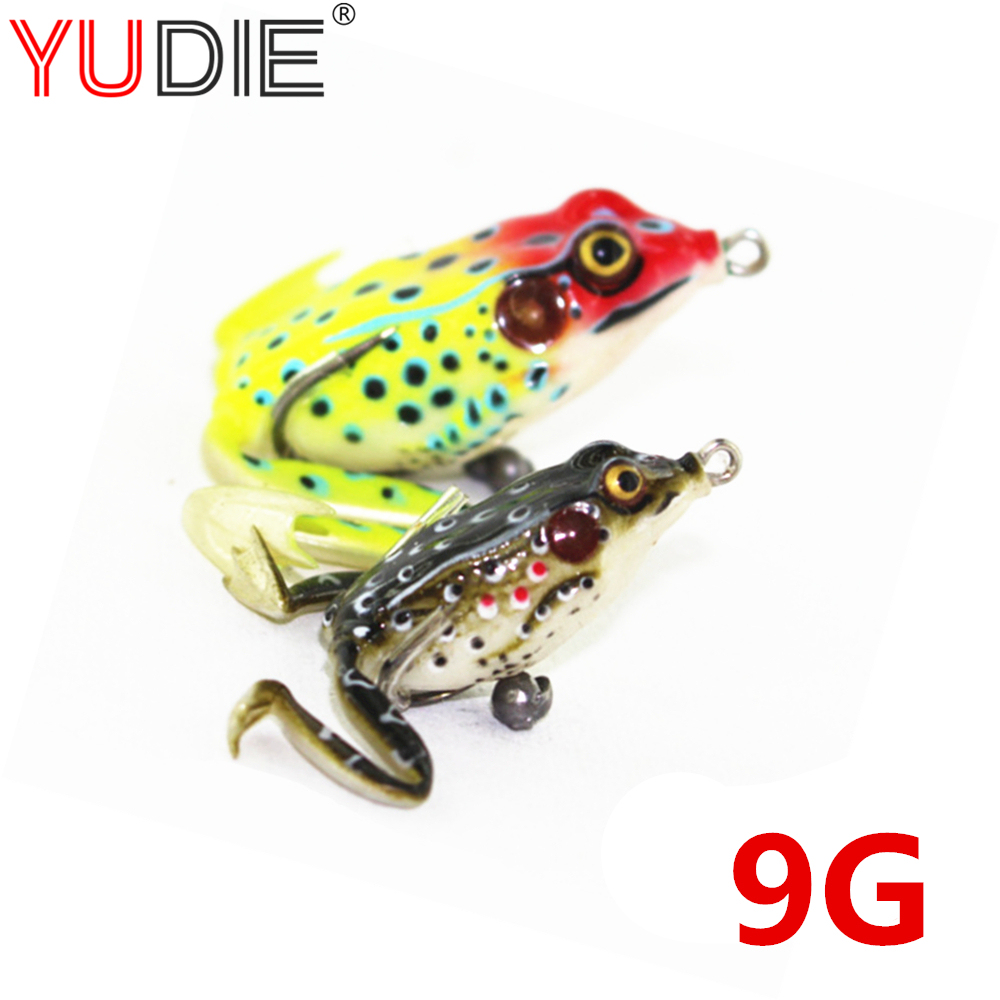 1Pcs 7cm 9g Lifelike Soft Leg Jump Green Frog Enticement Lures Silicone Bait For Crap Fishing Tackle Wobblers Crankbait 3 Colors soft lifelike pvc rubber frog style fishing bait green 3 5g 40mm