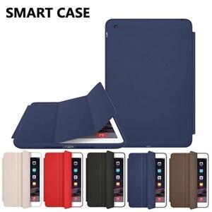 Оригинальный чехол для iPad Mini 3, 2, 1, умная подставка из искусственной кожи, автоматический откидной Чехол с функцией сна, чехлы для Apple iPad Mini 5, 4...