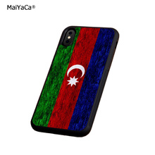 flag azerbaijan crayon soft silicone edge mobile phone cases for apple iPhone x 5s SE 6 6s plus 7 7plus 8 8plus XR XS MAX case