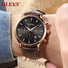 OLEVS watch mens strap sports fashion luxury brand famous trend waterproof gift