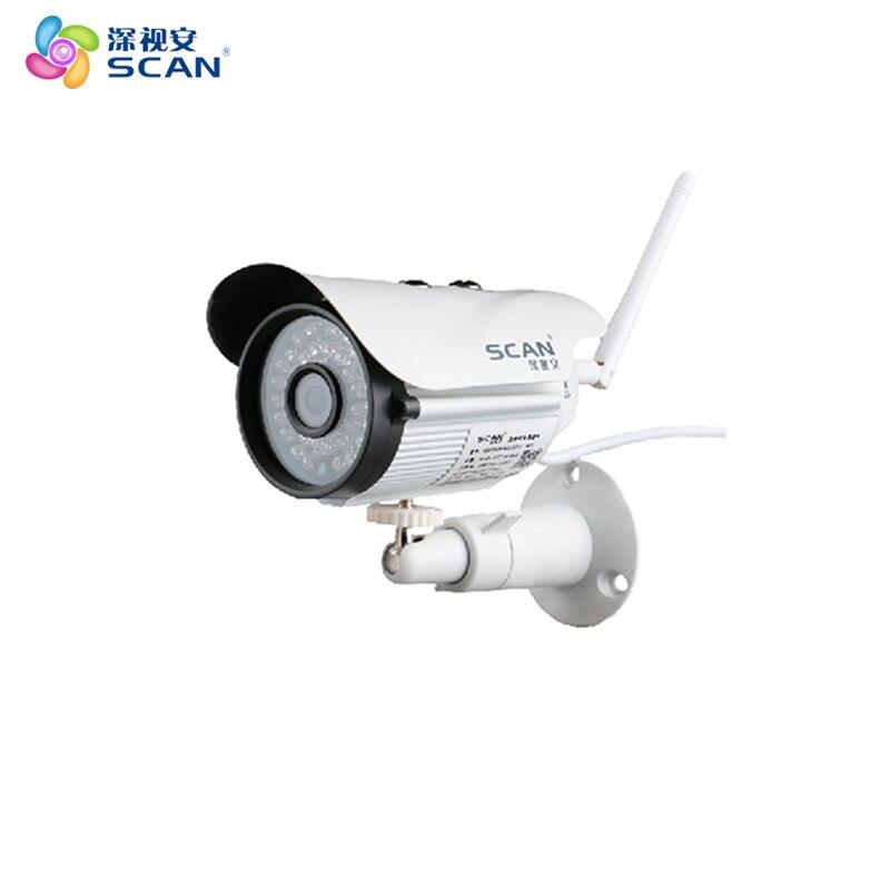 1080 P caméra IP balle Wifi 2.0mp détection de mouvement extérieur étanche Mini blanc Webcam Surveillance sécurité CCTV livraison gratuite