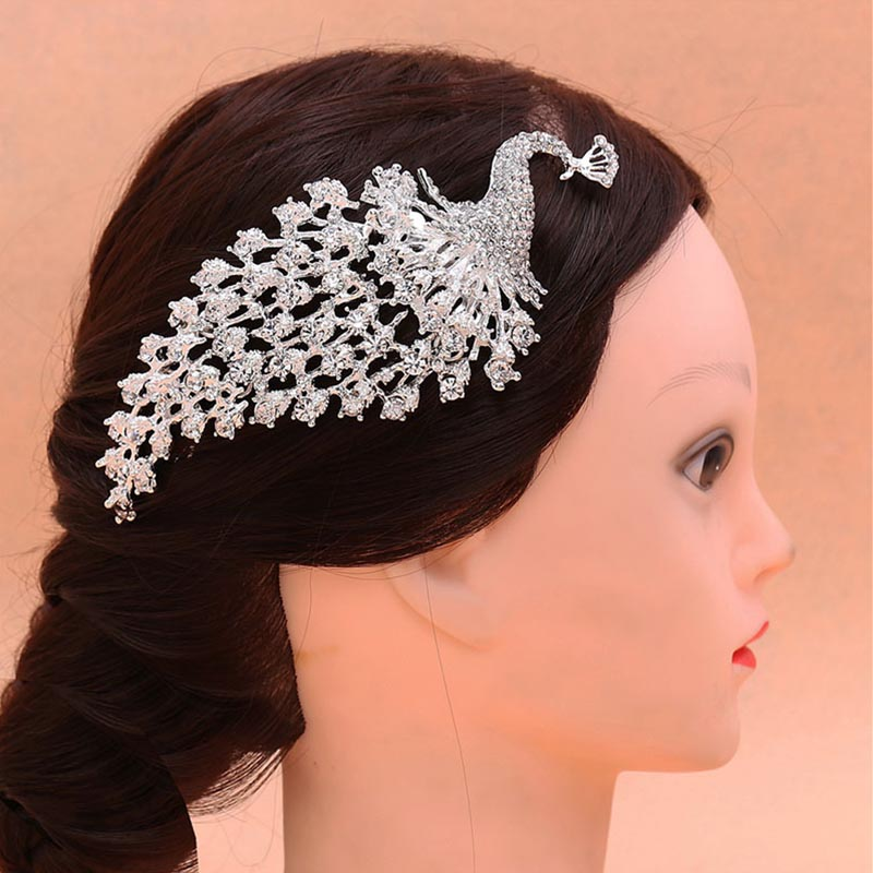 Wedding Hairstyles With Hair Jewelry: Bride Traditional Chinese Wedding Hair Jewelry Accessories