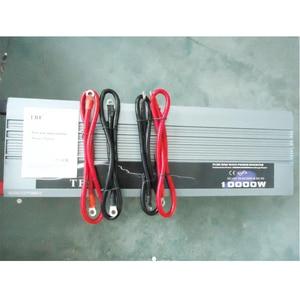 Image 2 - Inversor de potencia automático para coche, 10000 W, 10000 vatios, onda sinusoidal pura de cc 12v 24v a CA 220v 110v, Adaptador convertidor con cargador USB