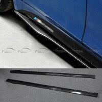Одежда высшего качества OMS Стиль F32 F33 F36 углеродное волокно боковые юбки/обвес для BMW/F32 F33 F сбоку в окружении BMW m tech Бампер