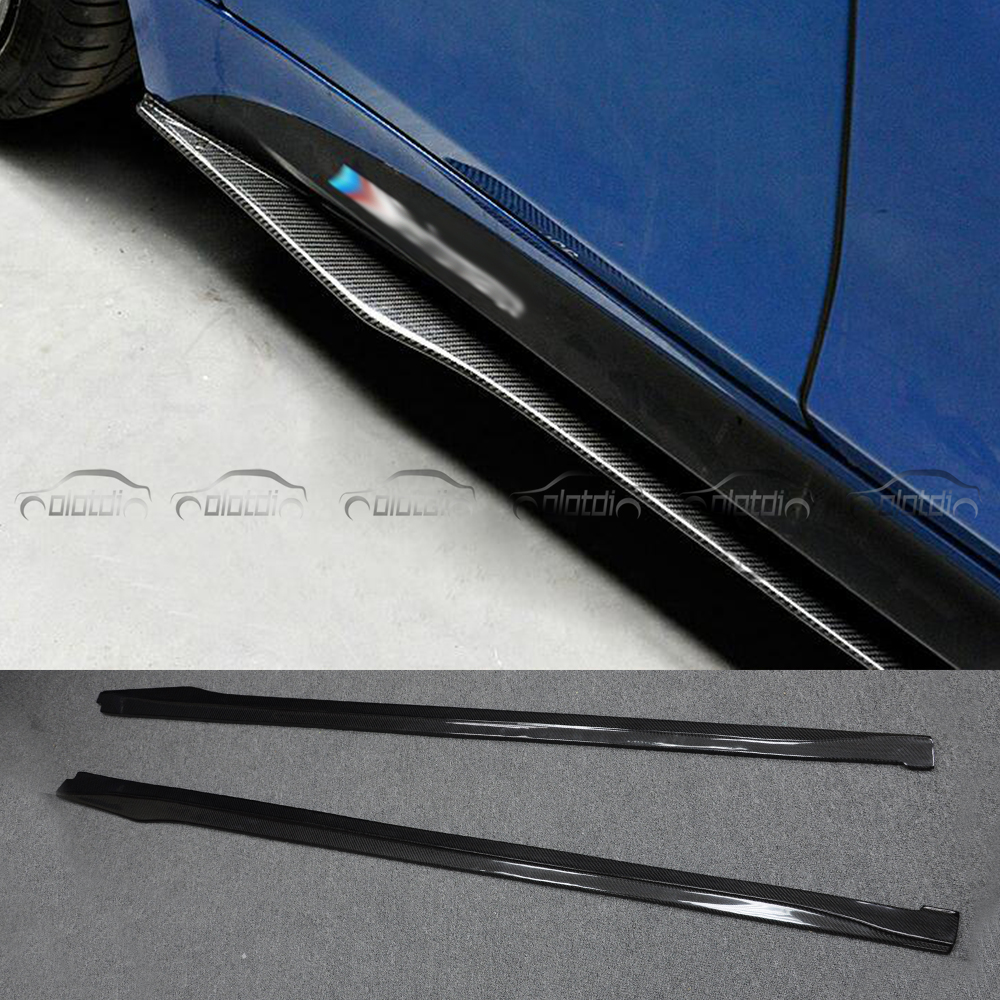 Top Quality OMS Style F32 F33 F36 carbon fiber side skirts/ bodykit for BMW / F32 F33 F side surrounded for BMW m-tech bumper f32 f33 f36 carbon fiber rear bumper lip diffuser spoiler for bmw f32 f33 f36 420i 428i 435i 420d 428d 435d m tech m sport