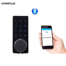 CYPATLIC Bluetooth Digital Door Lock Smart Electronic Combination APP, Code, Deadbolt For Home, Hotel ,Apartment