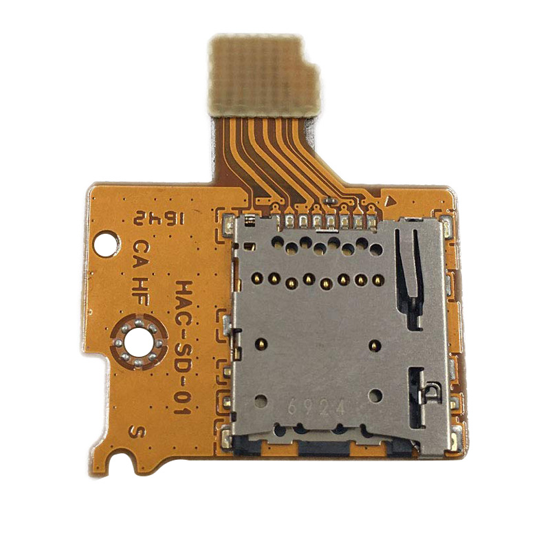 Micro-Sd Tf Card Slot Socket Board Replacement For Nintendo Switch Game Console Card Reader Slot Socket