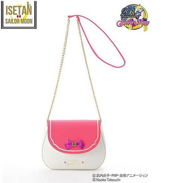 Novo 2018 Ladies Sailor Moon Saco Doces Saco Cor Corrente Ombro Saco PU bolsa De Couro Bonito Bolsa Arco Mulheres Mensageiro Crossbody Pequeno saco