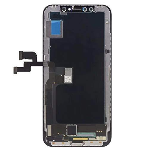 Per iPhone X S Max XR Display A CRISTALLI LIQUIDI Per Tianma AMOLED OEM Touch Screen Con Digitalizzatore Assemblaggio di Parti di Ricambio Nero