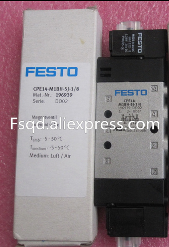 CPE14-M1BH-5J-1/8 196939 New and original FESTO solenoid valve газовая колонка oasis glass 20 vg
