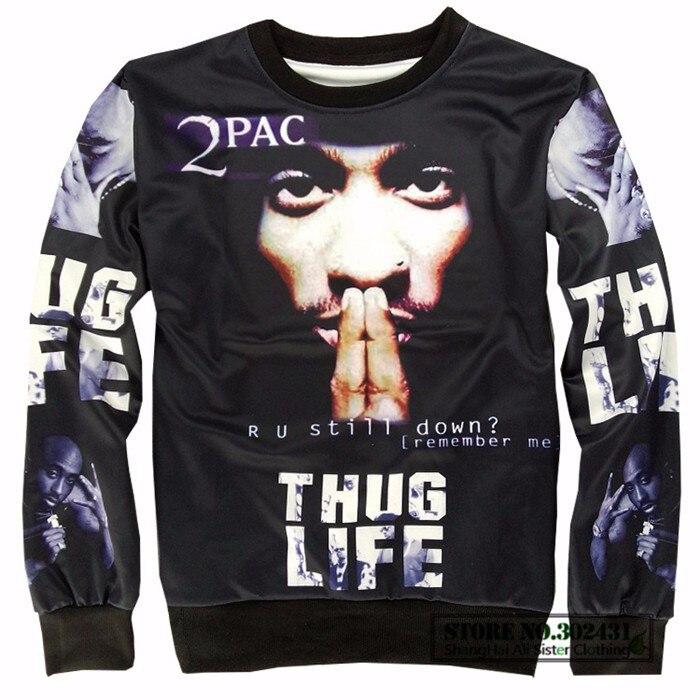 Новомодный, Alisister THUG LIFE свитшот для женщин и мужчин Tupac 2PAC Толстовка Рок Толстовка Пуловер одежда crewneck свитшоты