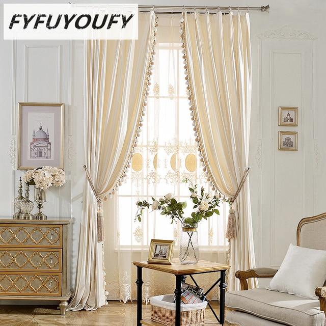 Moderne luxe l gant solide rideau fen tre stores cuisine Rideaux pour salon moderne