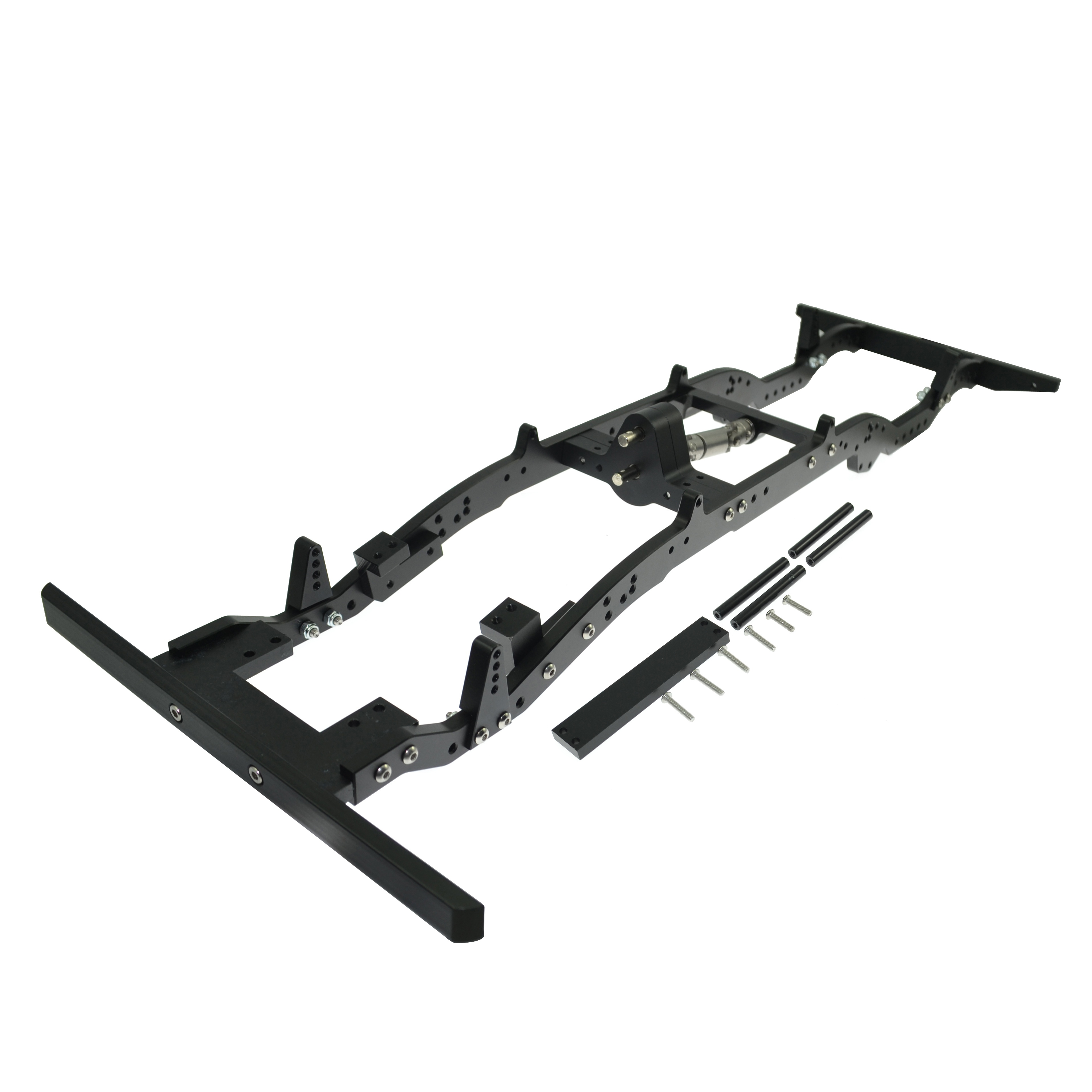 Rc Crawler D110 Aluminium alloy Chassis for 1/10 Axial Scx10 D110 313MM Wheelbase  rc car crawlers frame bracket for axial scx10 adjustable wheelbase 313mm 305mm 290mm