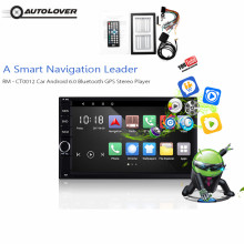 Car Multimedia Player 2 Din Android WiFi Bluetooth GPS Player Autoradio with FM Radio Mirror Link / Steering Wheel Control